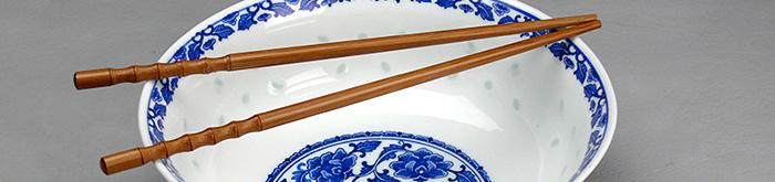 Chinesische Essstäbchen & Holz-Chopsticks