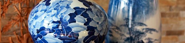 Chinesische Porzellanvasen & Bodenvasen