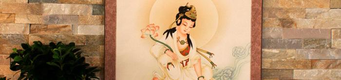 Buddhistische Bilder: Rollbilder