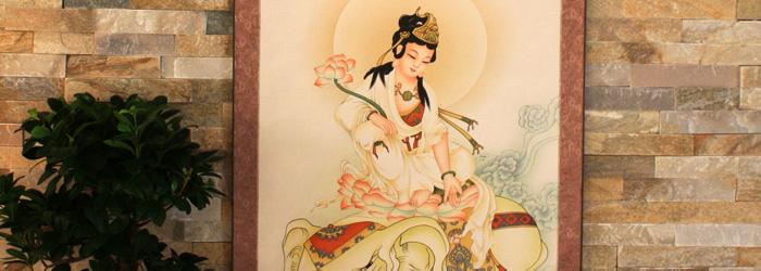 Buddhistische Rollbilder