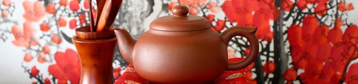 Yixing-Teekannen aus Ton