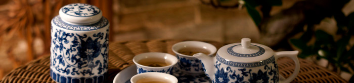 Chinesische Teeservice & Porzellan