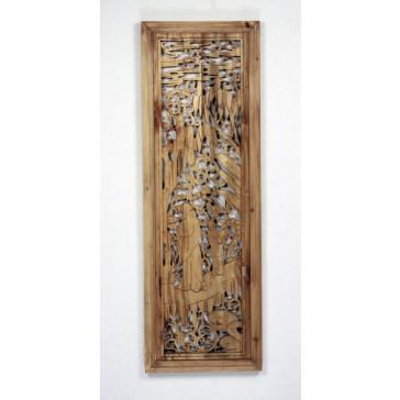 """Chenwood """"Holzwandbild Die Vier Künste"""""""