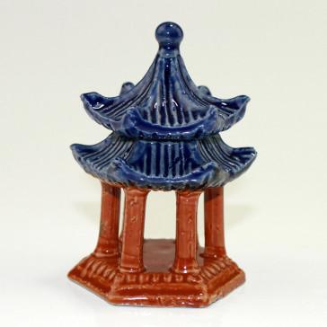 Bonsai-Figur chinesischer Pavillon