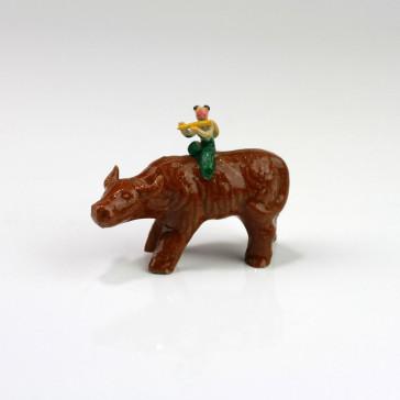 Bonsai-Figur aus handgefertigter Keramik