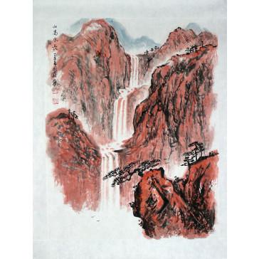"Chinesische Malerei ""Gleichgewicht"", Peng Guo Lan"