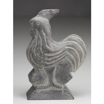 """Steinfigur """"Chinesische Tierkreiszeichen - Der Hahn"""""""