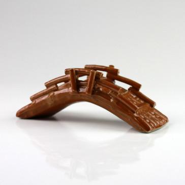 Keramikfigur Brücke Bambus