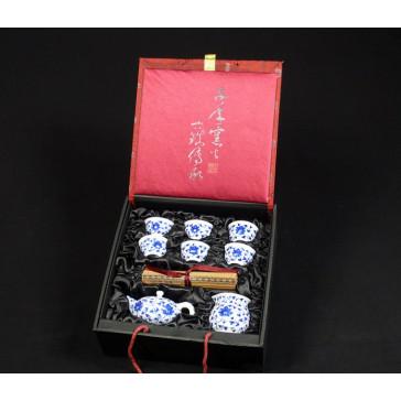 """Chinesisches Teeservice """"Lotusblume"""" Manufaktur Guzhen"""
