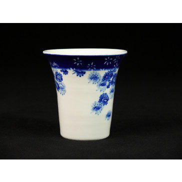 "Mini Vase Porzellan ""Pflaumenblüten"""