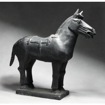 "Terrakotta-Krieger aus Xian ""Großes Pferd"", Höhe: 76 cm"