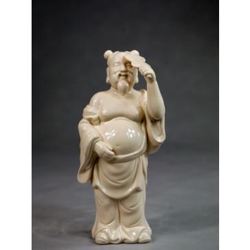 """Klassische Porzellanfigur """"Die Acht Unsterblichen - Zhongli Quan"""""""