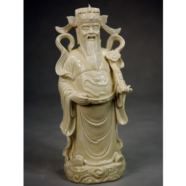 Porzellanfigur Fu Xing Feng Shui Glücksgott