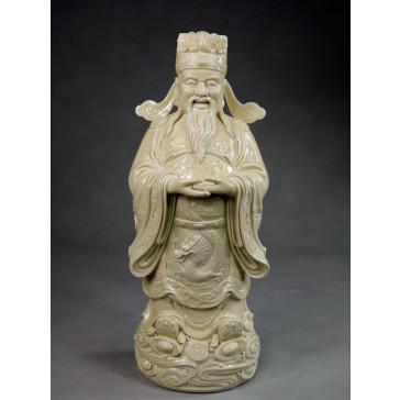 """Blanc-de-Chine """"Der Gott des Reichtums Cai Shen"""""""