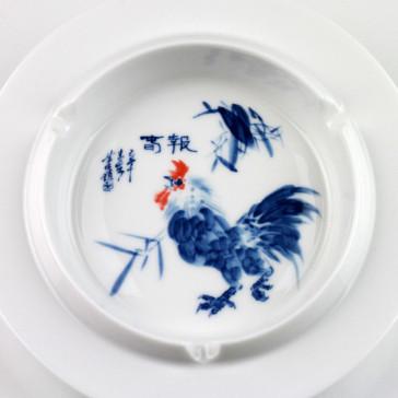 Chinesischer Porzellan Aschenbecher