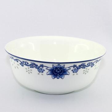 """Reisschüssel oder Suppenschüssel, asiatisches Porzellan """"Blumenornament"""""""
