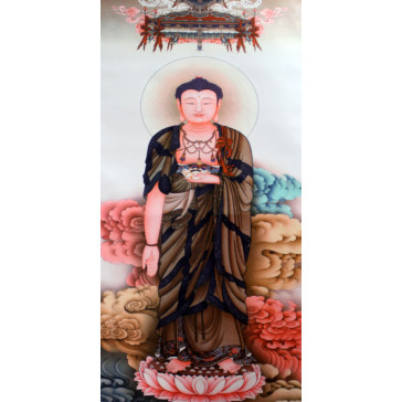 "Rollbild ""Buddha Amitabha Bodhisattva"""