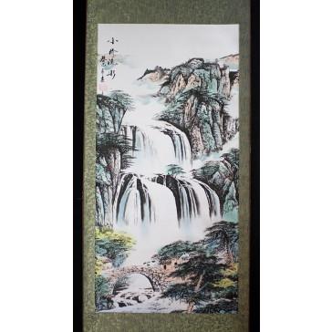 """Rollbild """"Wasserfall"""""""