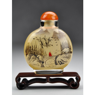 "Snuff Bottle ""Bergwind"" (rund)"