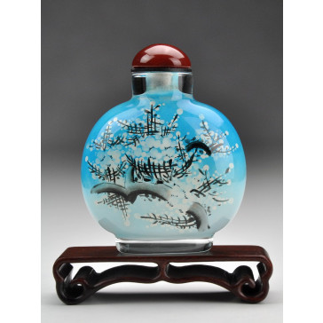 "Snuff Bottle ""Pflaume im Winter"""