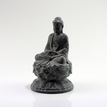 "Steinfigur ""Buddha Amitabha auf Lotosthron"""