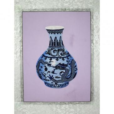 """Stickbild """"Ming-Vase Chinesische Drachen"""""""