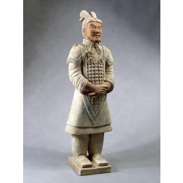 "Terrakottakrieger ""General"" (hell, 80cm Serie)"