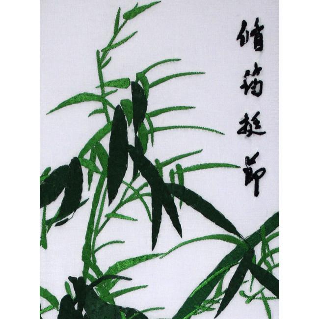 stickbild chinesische blumen bambus chinesisches bild. Black Bedroom Furniture Sets. Home Design Ideas