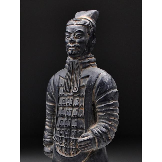 Terrakotta krieger aus xi 39 an offizier original chinesische - Chinesische gartendeko ...