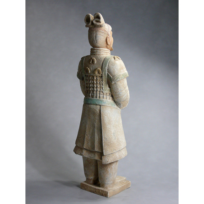 Terrakotta Krieger Set 22 cm Serie hell Tonsoldaten Terra Cotta Armee China Xian