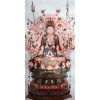 "Stoffbild ""Avalokiteshvara mit Tausend Armen"""