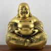 "Glücksbuddha ""Lachender Buddha"" goldfarben"