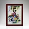 """Chinesisches Bild """"Xi Shi"""", Porzellanbild  """"Die Vier Schönheiten"""""""