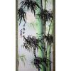 """Rollbild """"Bambus im Mondschein"""", chinesische Bildrolle"""