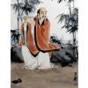 """Wang Xuan """"Flötenspieler im Bambus"""""""