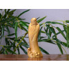 """Chinesische Holzfigur """"Shou Xing - der Unsterbliche"""""""