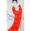 """Rollbild im japanischen Stil """"Wang Zhaojun"""""""