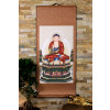 "Rollbild ""Amitabha"" Buddha, Bodhisattva der Ruhe auf Stoff"