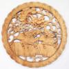 """Wandordnament Holz """"Qilin"""""""