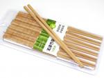 """Chinesische Bambus-Essstäbchen """"Schnitzkunst"""""""