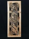 """Chinesisches Fenster """"Paradiesvögel im Bambus"""" Wandbild"""