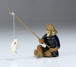 "Bonsai-Figur ""Angler"""