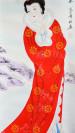"Japanisches Rollbild ""Wang Zhaojun"""
