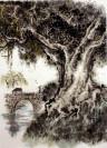 "Peng Guo Lan ""Duftender Kampferbaum"", chinesische Malerei"