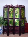 """Paravent """"Wasserlilien"""", Raumteiler"""