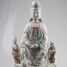 Kuan Yin Kermikfigur