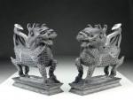 "Steinfiguren ""Qilin"", Ming-Dynastie"