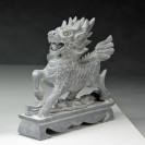 "Steinfigur ""Qilin"", Skulptur"