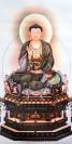 "Stoffbild ""Amitabha Buddha"""