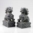 Fu-Dogs Steinfiguren, Tempelwächter Paar Wächterlöwen